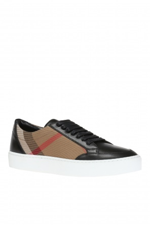 Checked sneakers od Burberry