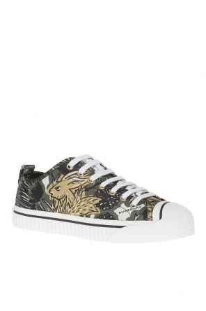 'beasts' printed sneakers od Burberry