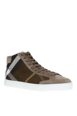 'house check' high-top sneakers od Burberry