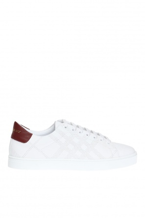 'perforated check' sneakers od Burberry