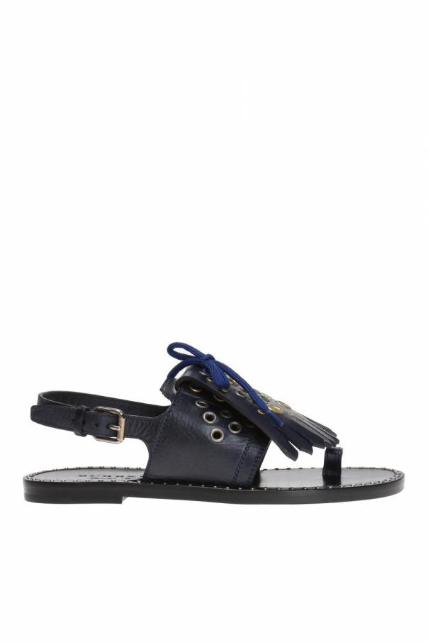 95b05a74c1 Kiltie Fringe' sandals Burberry - Vitkac shop online