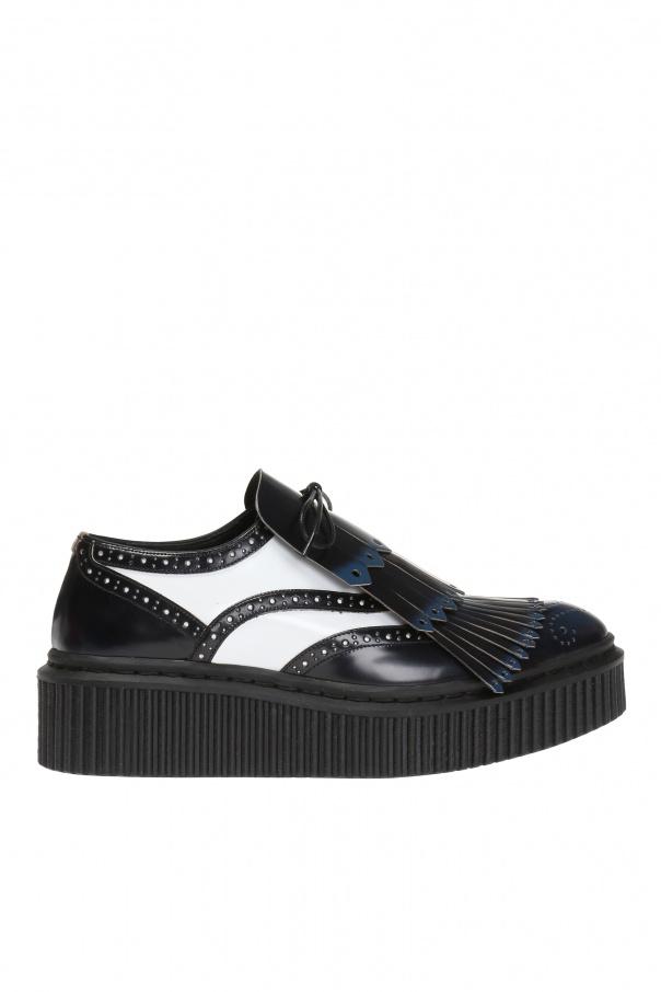 73d3fd9897 Lace-up platform shoes Burberry - Vitkac shop online