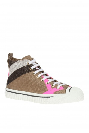 High-top sneakers od Burberry