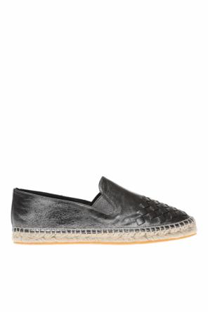 Leather espadrilles od Bottega Veneta