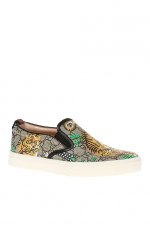 Printed slip-on sneakers od Gucci