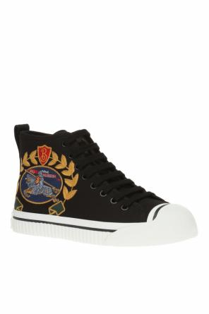'kingly' high-top sneakers od Burberry