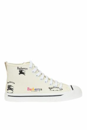 Sport shoes with a printed logo od Burberry
