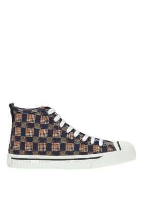 Patterned sport shoes od Burberry
