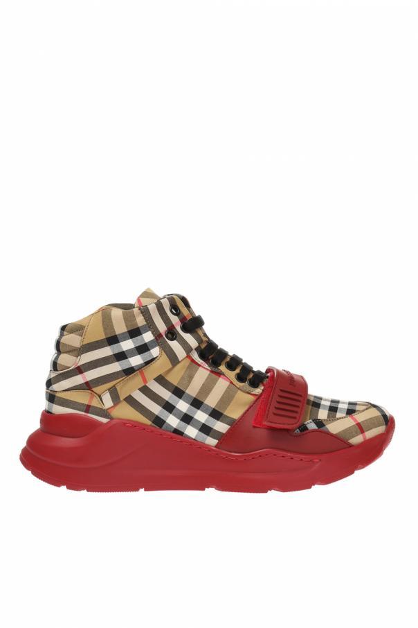 08676bec17 Regis' high-top platform sneakers Burberry - Vitkac shop online