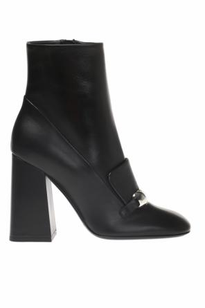 'lf branant' heeled ankle boots od Burberry