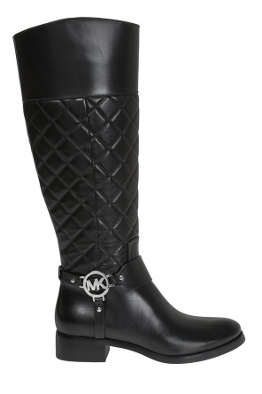 'fulton' quilted boots od Michael Kors