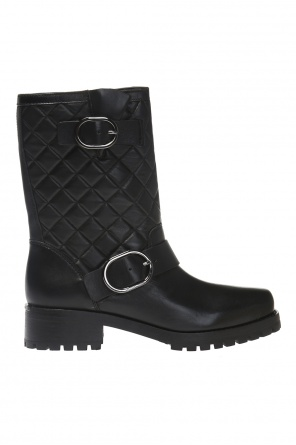 'rosario' quilted combat boots od Michael Kors