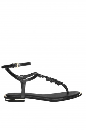 'bella' sandals with ruffle od Michael Kors