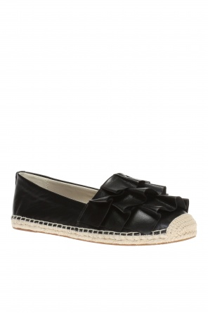 'bella' espadrilles with ruffle od Michael Kors