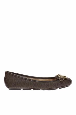 'fulton' moccasins with logo od Michael Kors