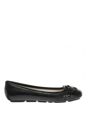 'fulton' leather moccasins od Michael Kors