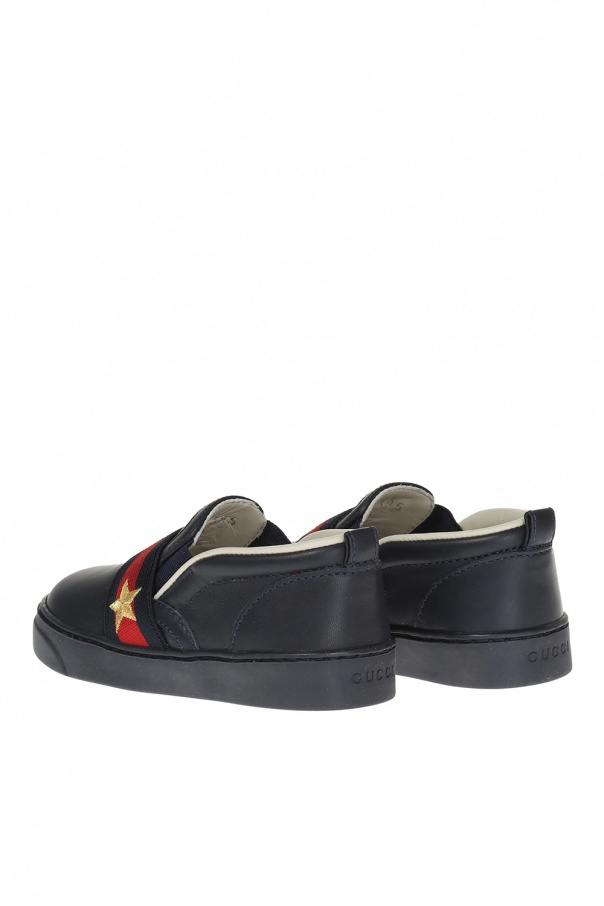 Slip-on sneakers od Gucci Kids