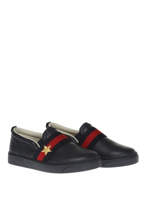 Buty typu 'slip-on' od Gucci Kids