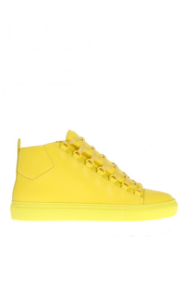 7dd83c52b66e Arena  Leather High-Top Sneakers Balenciaga - Vitkac shop online