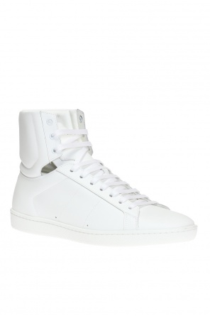 'court classic sl/01h' high-top sneakers od Saint Laurent