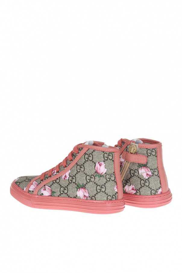 f94e921aa24 Leather high-top sneakers Gucci Kids - Vitkac shop online