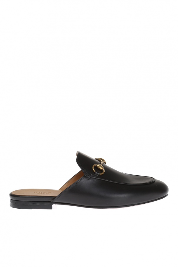 a2b88c387 Horsebit Leather Slippers Gucci - Vitkac shop online