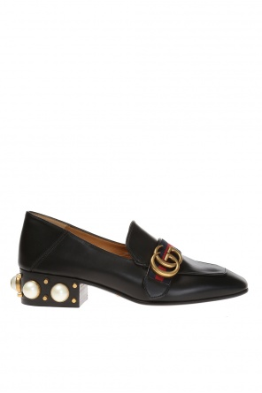 High heeled 'loafers' od Gucci
