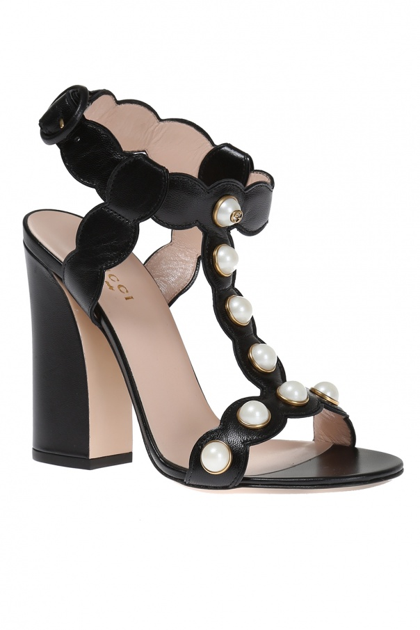 22b7197ae Willow' Heel Sandals Gucci - Vitkac shop online