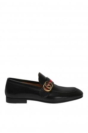 Leather loafes od Gucci