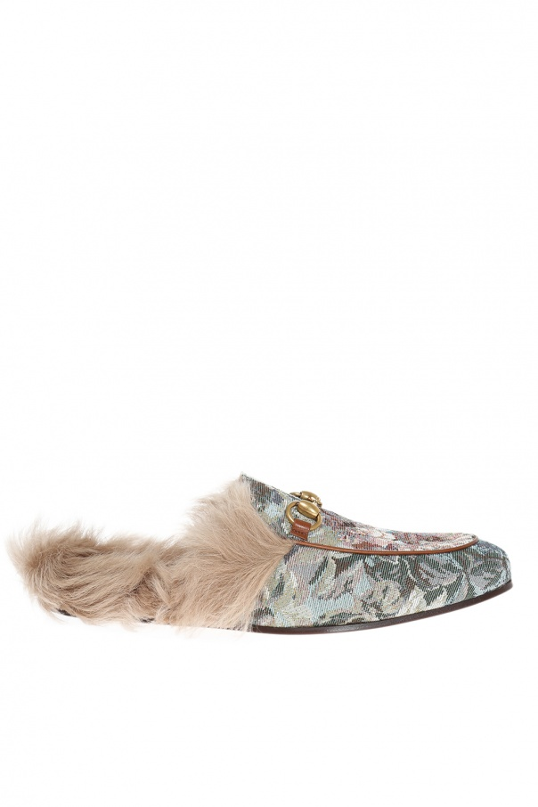 cd040321534d Princetown  leather slippers Gucci - Vitkac shop online