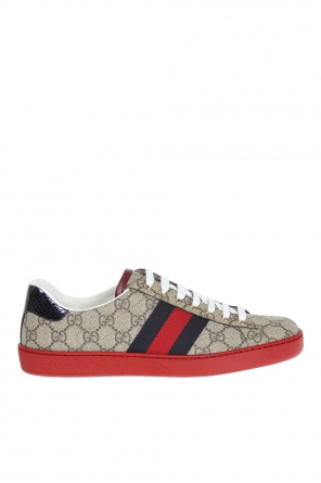 'gg supreme' canvas sneakers od Gucci