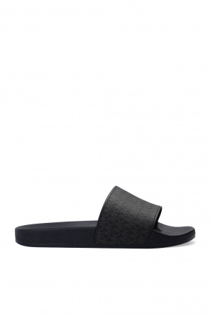 'jake' slides with logo od Michael Michael Kors