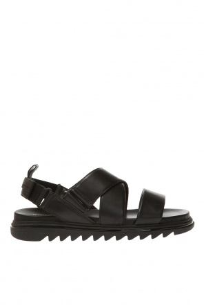 Leather sandals od Michael Kors