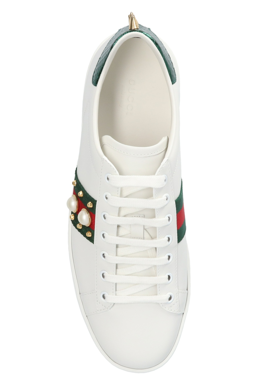 Ace Leather Sneakers Gucci Gov Us