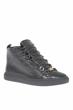 'arena' leather high-top sneakers od Balenciaga