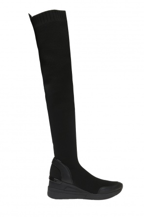 'grover' thigh-high sneakers with sock od Michael Kors