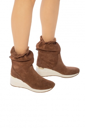 'randy' wedge boots od Michael Kors