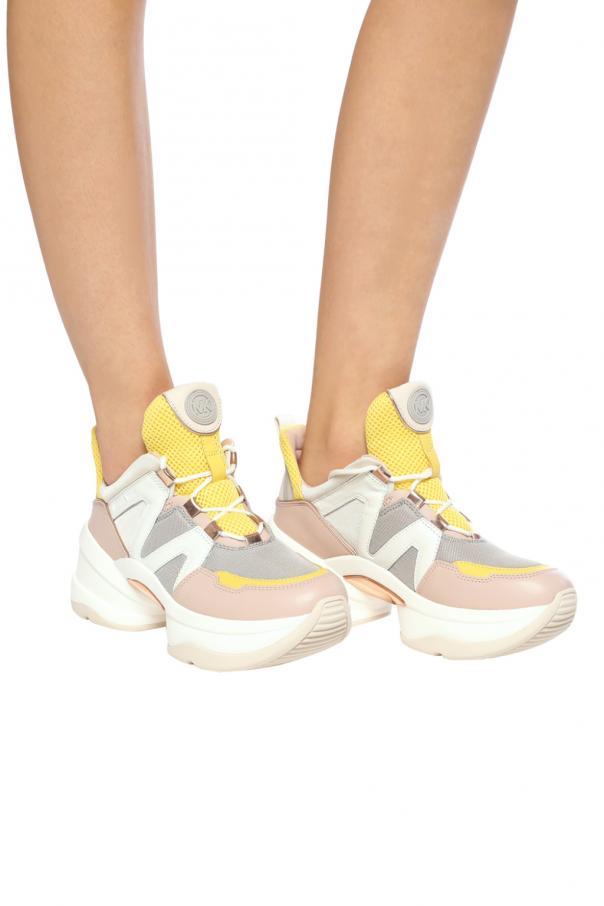 27674b9e572 Olympia  high-top sneakers on platform Michael Kors - Vitkac shop online