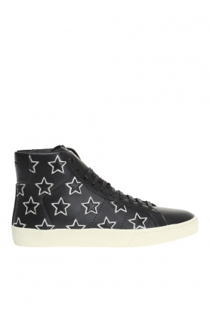 'court classic' leather high-top sneakers od Saint Laurent