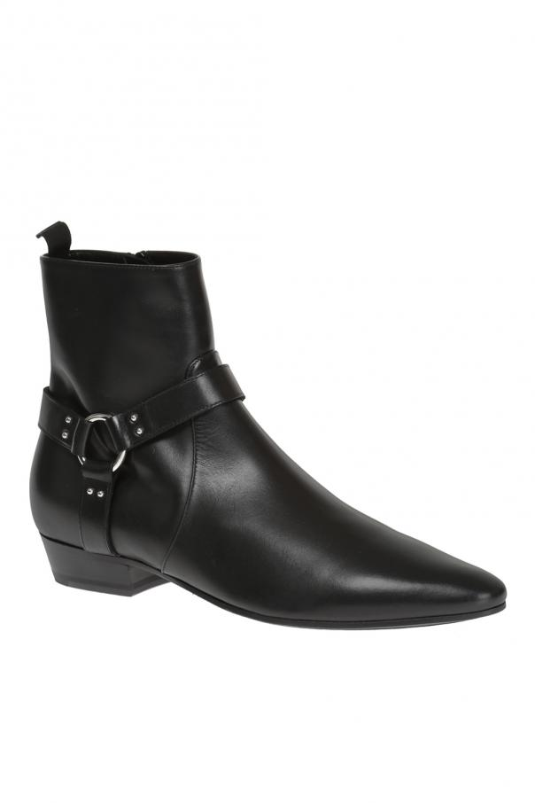 Buty za kostkę 'devon' od Saint Laurent Paris