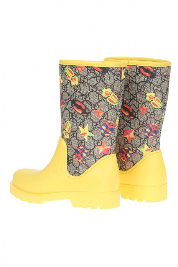 d0fab07af Patterned rain boots Gucci Kids - Vitkac shop online