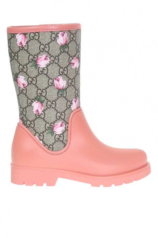 53107b5d87a Patterned rain boots Gucci Kids - Vitkac shop online