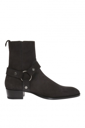 'classic wyatt' suede ankle boots od Saint Laurent Paris