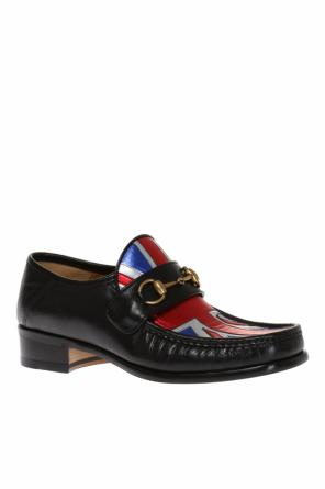 Leather loafers od Gucci