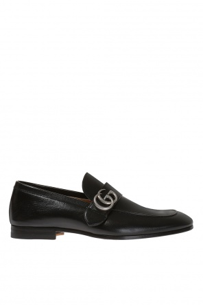 Loafers with metal logo od Gucci
