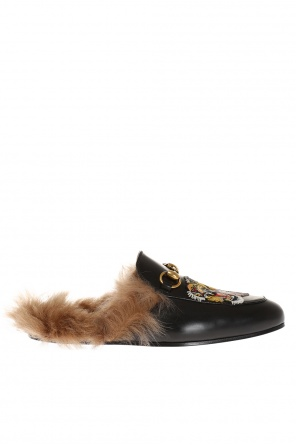'princetown' leather slippers od Gucci