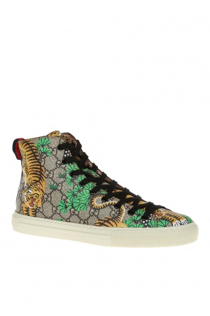 Printed high-top sneakers od Gucci