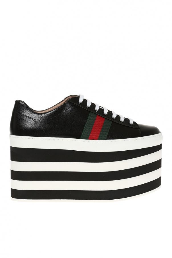 91eaced86b4b1 Buty sportowe na wysokiej platformie Gucci - sklep internetowy Vitkac