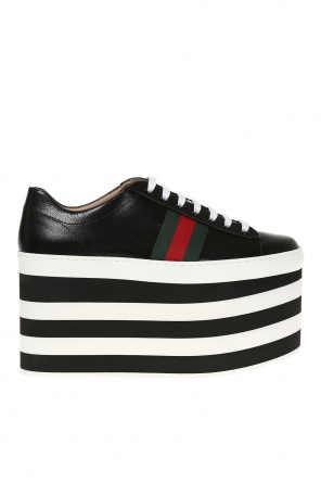 High platform sneakers od Gucci