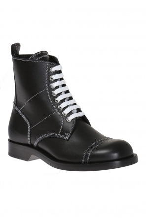 Lace-up ankle boots od Loewe